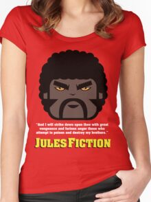 JULES FICTION V2 Women's Fitted Scoop T-Shirt