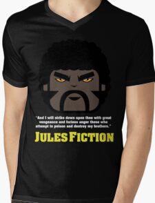 JULES FICTION V2 Mens V-Neck T-Shirt