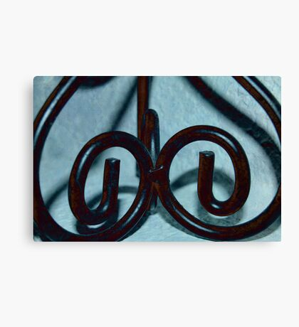 Difference Scrolls Canvas Print