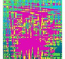 Pastel Grunge Photographic Print