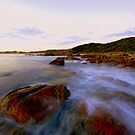 """ West Cape  Cape Conran Vic "" by helmutk"