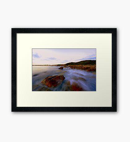 """ West Cape  Cape Conran Vic "" Framed Print"