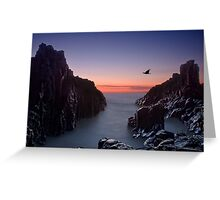 Early Morning at Bombo Rocks Greeting Card