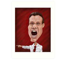 Coach Tim Miles  Art Print