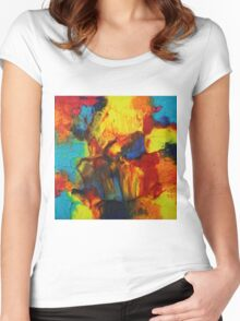 """""""Audacity No.2"""" original artwork by Laura Tozer Women's Fitted Scoop T-Shirt"""