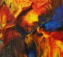 """""""Audacity No.2"""" original artwork by Laura Tozer Sticker"""