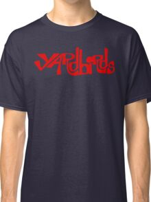 Yardbirds Eric Clapton Jimmy Page Jeff Beck Funny Geek Nerd Classic T-Shirt