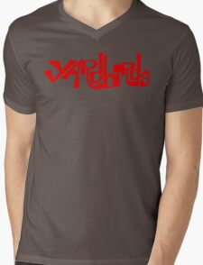 Yardbirds Eric Clapton Jimmy Page Jeff Beck Funny Geek Nerd Mens V-Neck T-Shirt