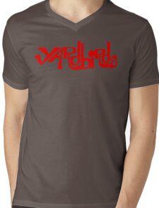 Yardbirds Eric Clapton Jimmy Page Jeff Beck Funny Geek Nerd Mens V-Neck T-Shirt