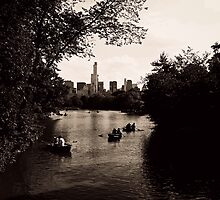 NY Central Paddle by CandiceElisabet