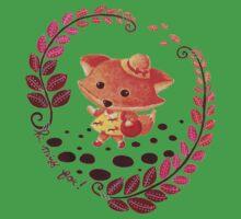 Hello, Miss Fox! One Piece - Short Sleeve