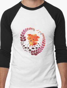 Hello, Miss Fox! Men's Baseball ¾ T-Shirt