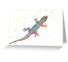 First gecko Greeting Card
