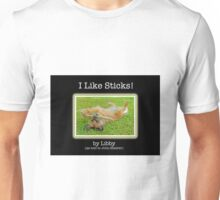I Like Sticks Book Cover Unisex T-Shirt