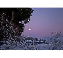 east of the moon ( vor Debra) Photographic Print
