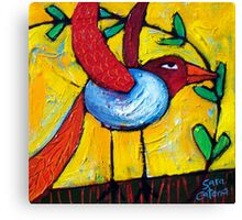 FLIGHT OF THE LOVEBIRD Canvas Print