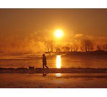 Sunrising II (lakeshore) Photographic Print