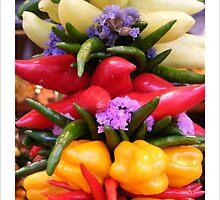 Vegetable Garland by Zoe Harmer