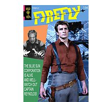 Firefly Vintage Comics Cover Photographic Print