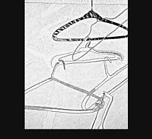 Hangers in Blacks and Grays Unisex T-Shirt