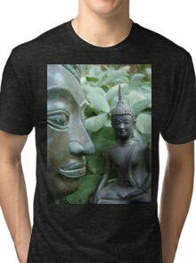 Budda in Nature Tri-blend T-Shirt