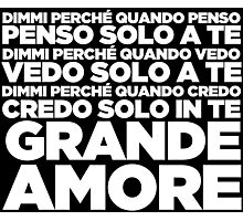 Grande Amore - Eurovision 2015 Photographic Print