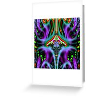 'Vimana Flux Lines' Greeting Card