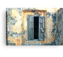 Window, Fort Moro, Old San Juan, Puerto Rico Canvas Print