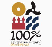 100 renewable energy greenpeace Funny geek Nerd by utomo