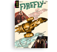 Firefly Vintage Comics Cover (Serenity) Canvas Print