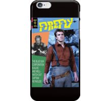 Firefly Vintage Comics Cover iPhone Case/Skin