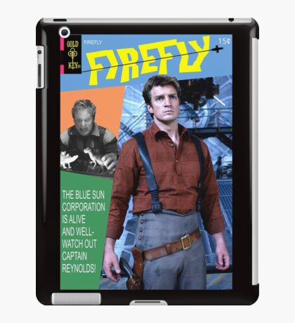 Firefly Vintage Comics Cover iPad Case/Skin