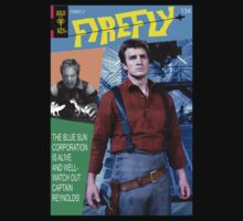 Firefly Vintage Comics Cover by zenjamin