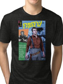 Firefly Vintage Comics Cover Tri-blend T-Shirt