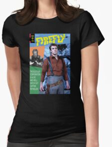 Firefly Vintage Comics Cover Womens Fitted T-Shirt