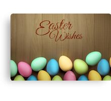 Easter Wishes Canvas Print