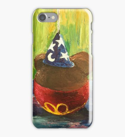 Sorcerer Mickey Gourmet Apple iPhone Case/Skin