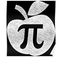 Apple pie pi day Funny Geek Nerd Poster