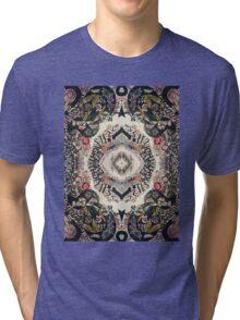 Fractal Typography Tri-blend T-Shirt