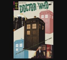 Doctor Who Vintage Comics Cover by zenjamin