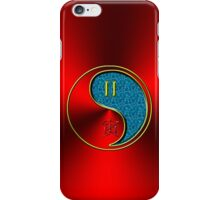 Gemini & Tiger Yang Water iPhone Case/Skin