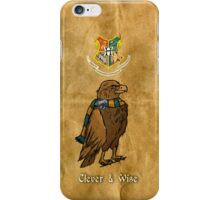 Ravenclaw: Clever and Wise iPhone Case/Skin