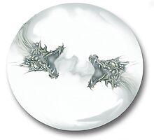Glass Dragon Bubble by Wolfwalker