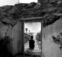 thinking boy by oneti134