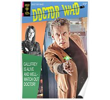 Doctor Who Vintage Comics Cover Poster