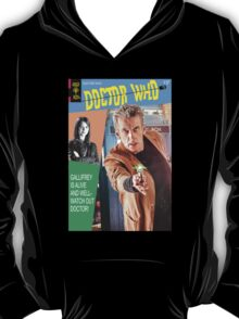 Doctor Who Vintage Comics Cover T-Shirt