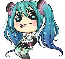 Append Miku Chibi by ribbon-bubbles