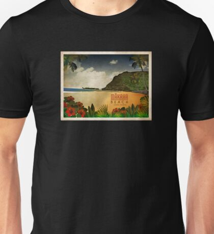 Makaha Beach Oahu Hawaii Unisex T-Shirt