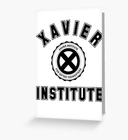 Xavier Institute X-Men Logo Greeting Card