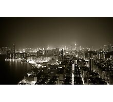 Hong Kong Photographic Print